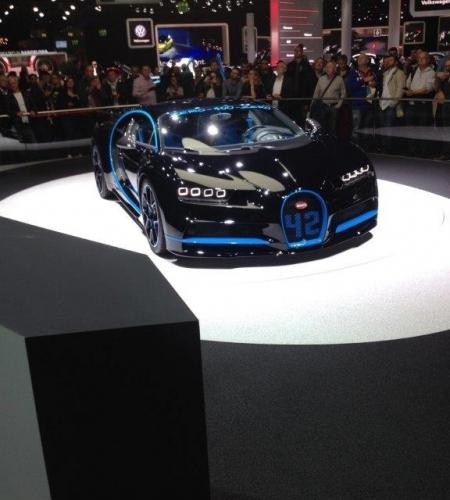 Bugatti Chiron 1500 PS