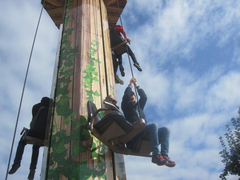 Schulausflug zum Freizeitpark Lochmühle