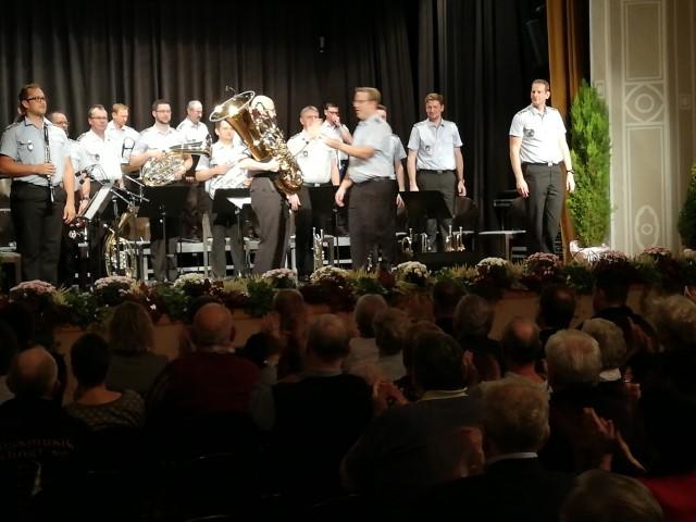 Wohltätigkeitskonzert mit dem Heeresmusikkorps