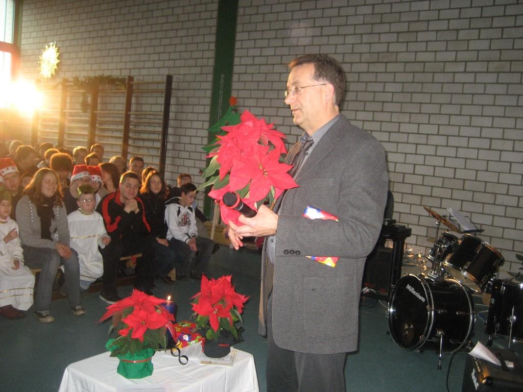 Abschied von unserem langjährigen Schulleiter Herrn Pischke